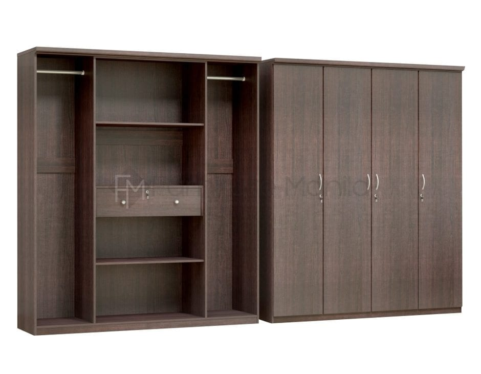 HS-BW407 4-door Wardrobe