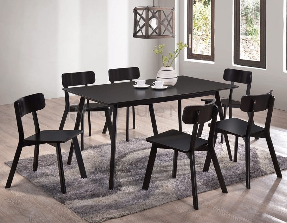 Hmq5 Round Dining Set With Lazy Susan Home Amp Office