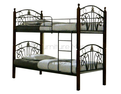 Nv1001 double deck furniture manila philippines for Double deck bed for sale