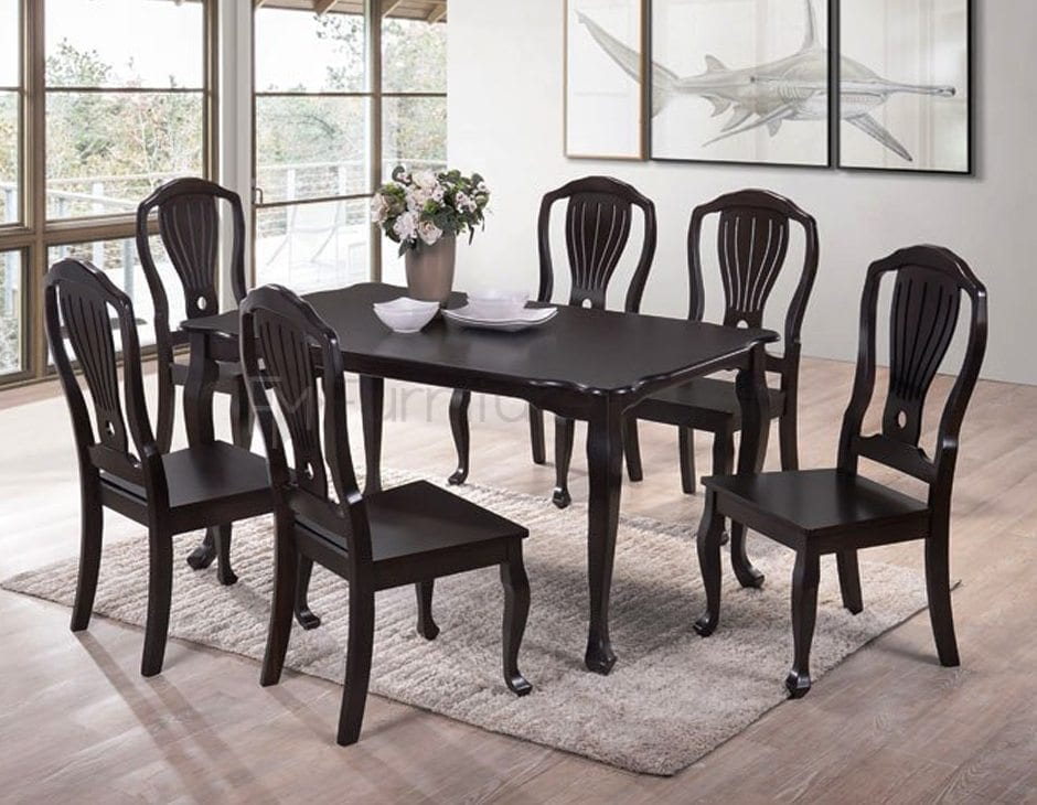 HMQ5 ROUND DINING SET WITH LAZY SUSAN | Home & Office ...