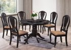 HMQ5 Round Dining Set with Lazy Susan