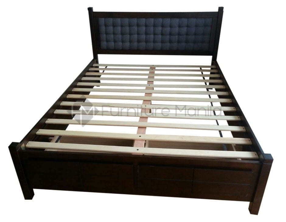 Gianna Wooden Bed Frame Home Office Furniture Philippines