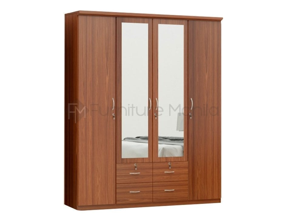 HS-BW406 4-door Wardrobe2