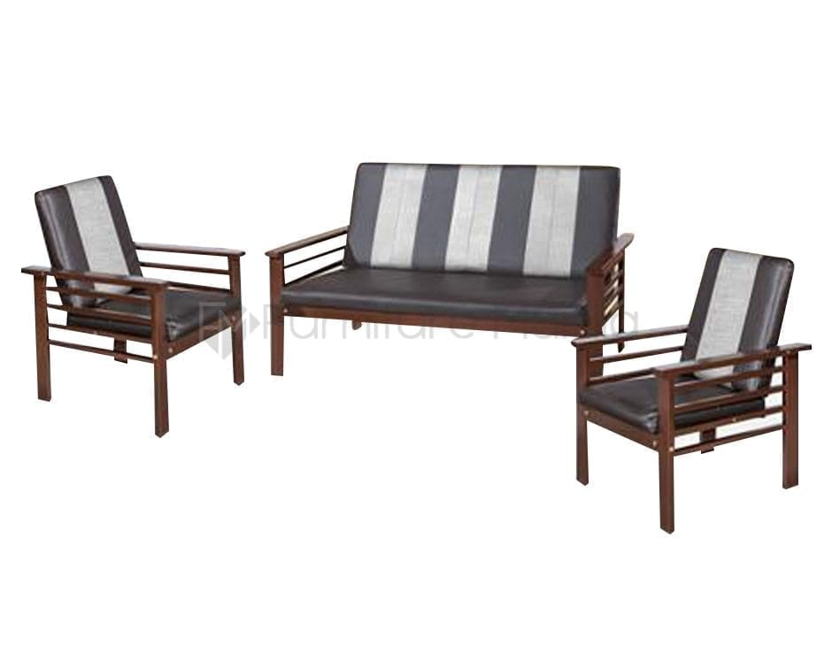 Kd 8833 Metal Sofa Set