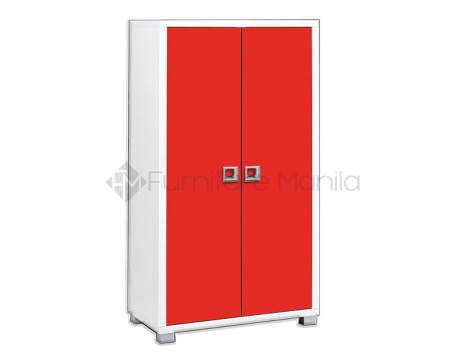 ED 2515 Shoe Cabinet Red