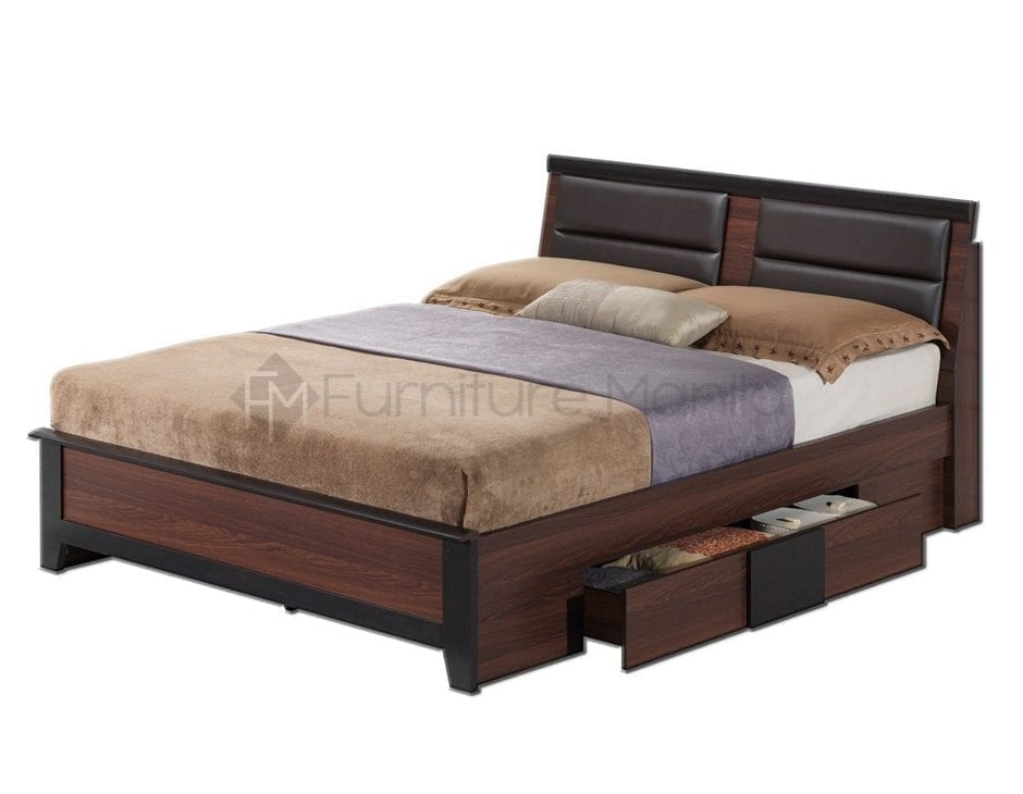Wooden Double Sofa Bed
