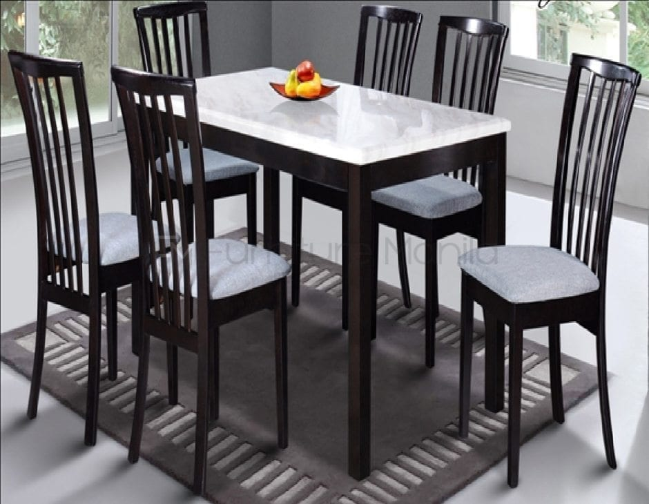 M466 Marble Dining Set Home Office Furniture Philippines
