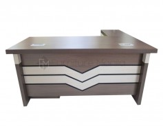YF037-160  Boss Table with L-Shape 1.6