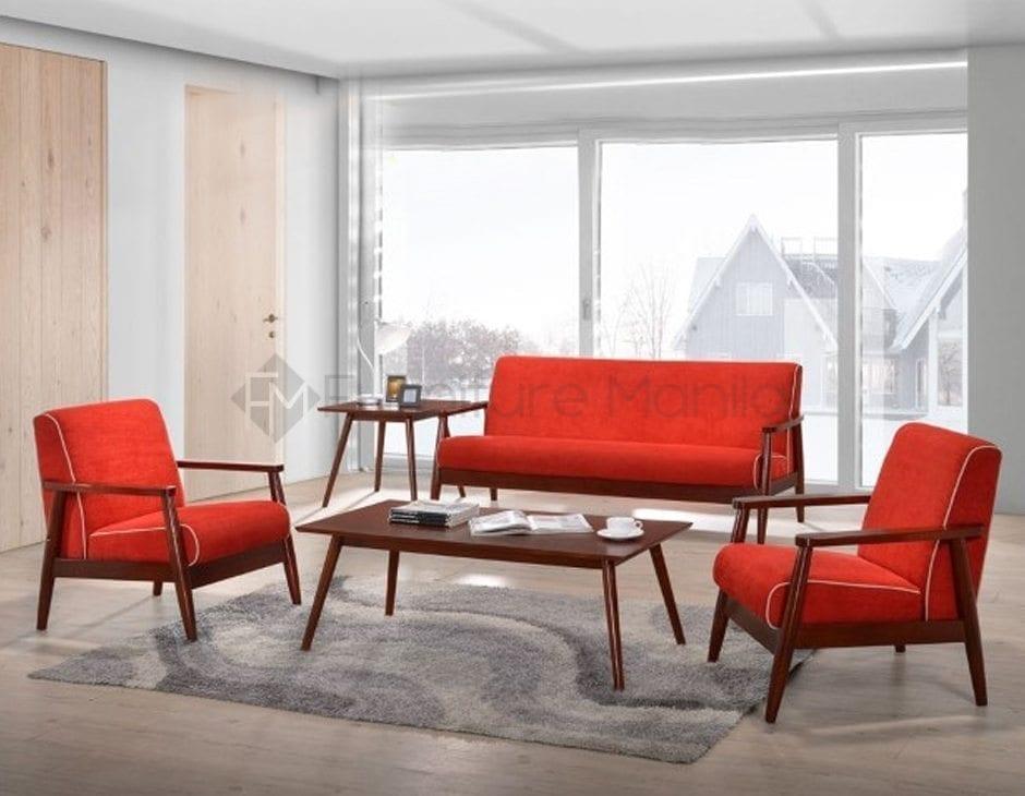 Sotifa Red Sofa Set