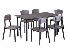 D01148 Dining Set 6s