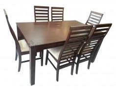 Iris Dining Set 6s1