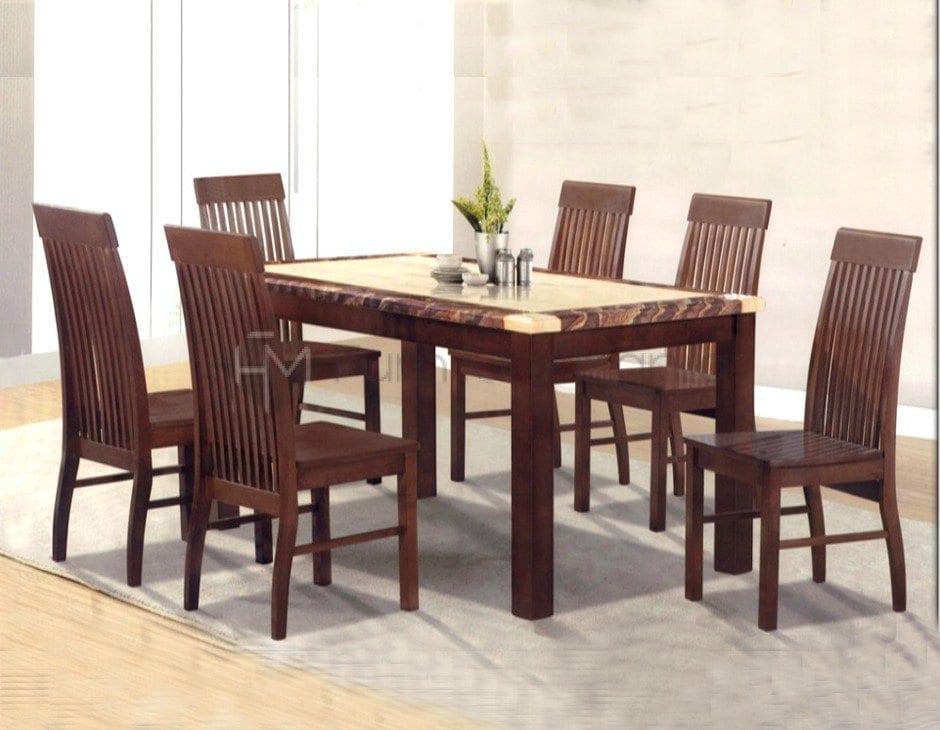 M389-C7868 Dining Set 6s