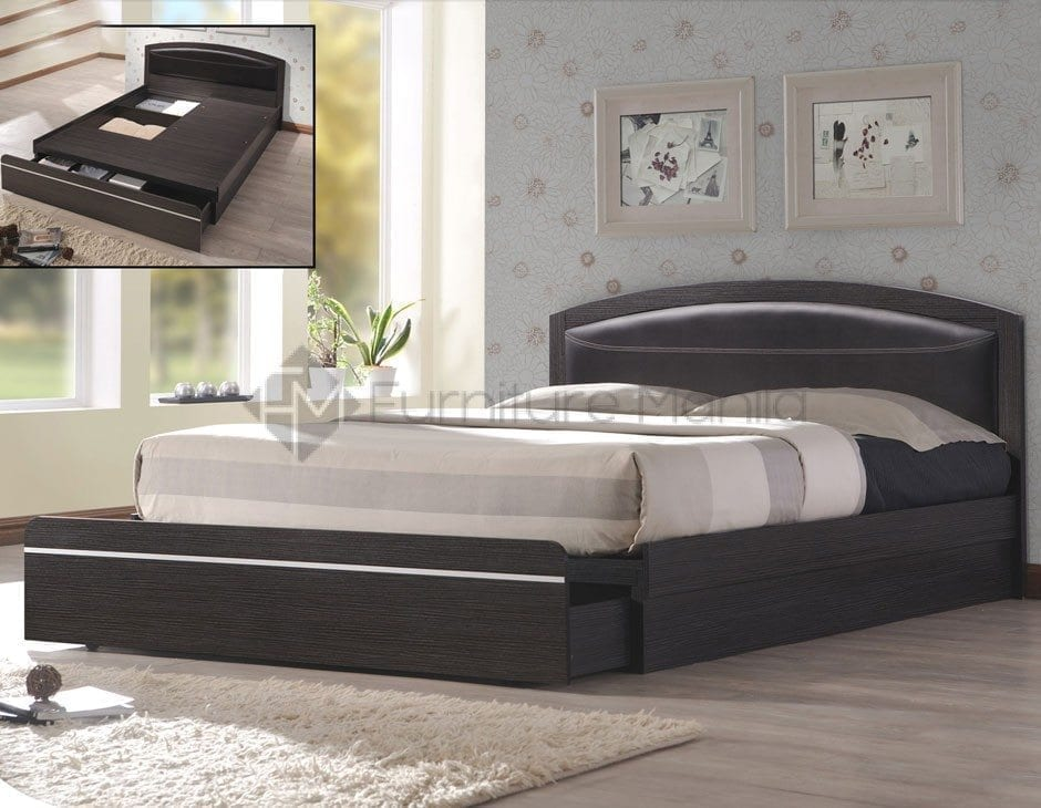 8026 BED FRAME WITH STORAGE DRAWER | Home & Office Furniture Philippines