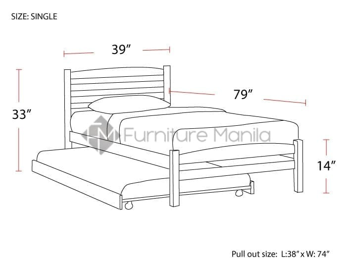 reputable site 2e3f7 3bdd8 1001KF SINGLE BED FRAME