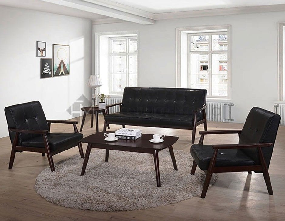 Kf6024 Sofa Set With Center And Side Table Home Office Furniture Philippines