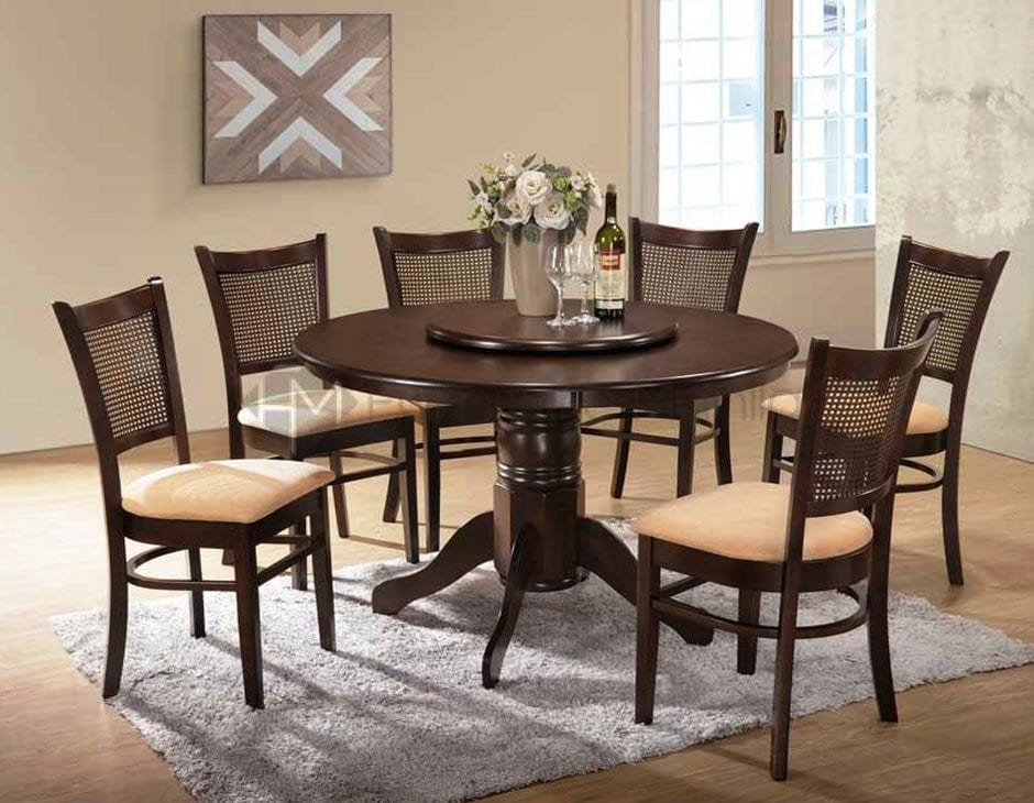 Kf4030 Dining Set With Lazy Susan Home Amp Office