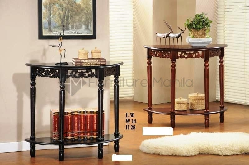 KF2100 Half Moon Console Table