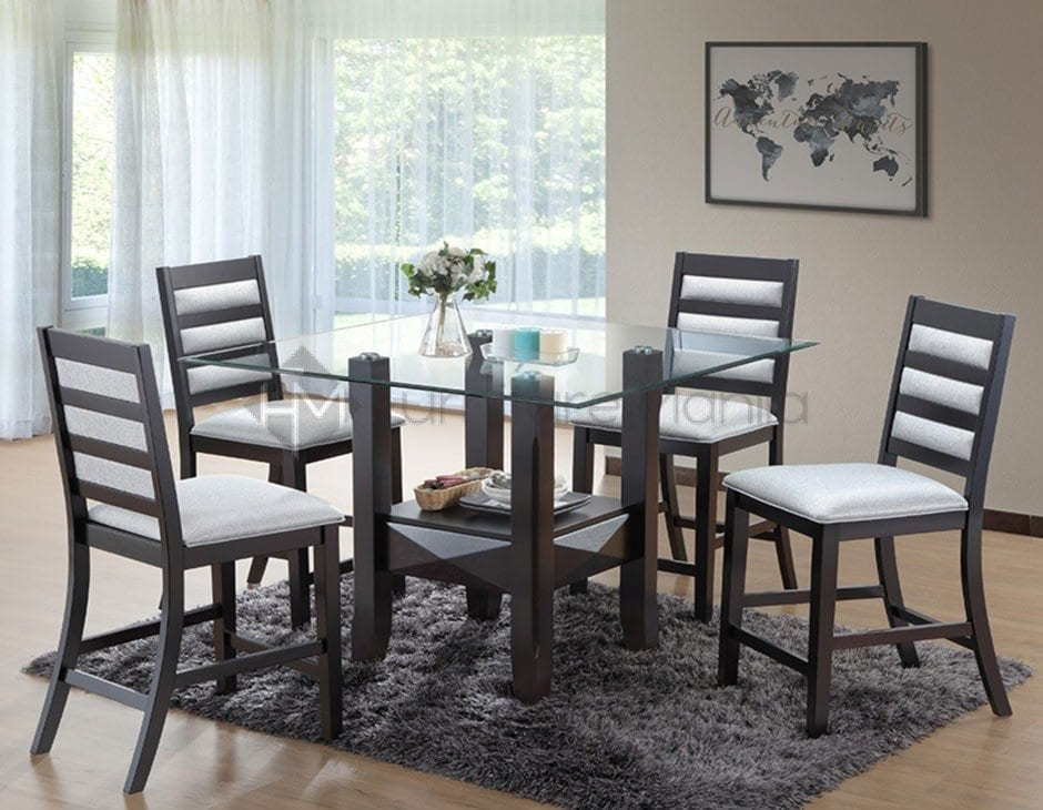 PAULA COUNTER HEIGHT DINING SET Furniture Manila Philippines