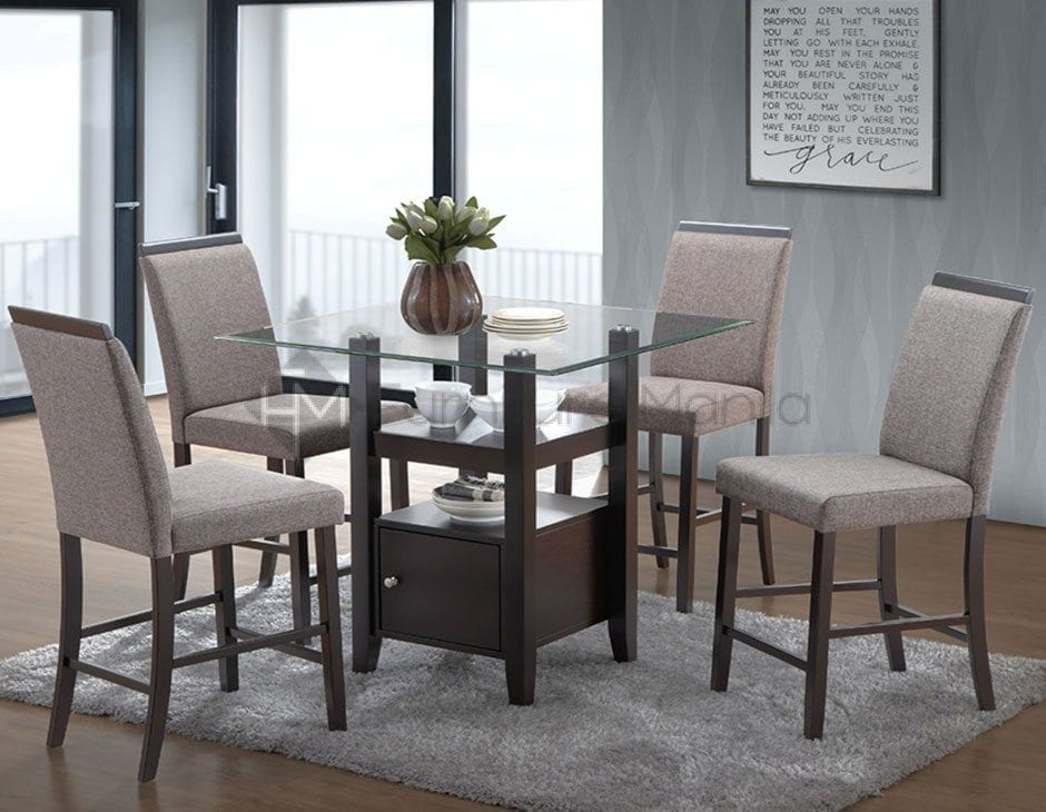 PEGGY COUNTER HEIGHT DINING SET Furniture Manila Philippines