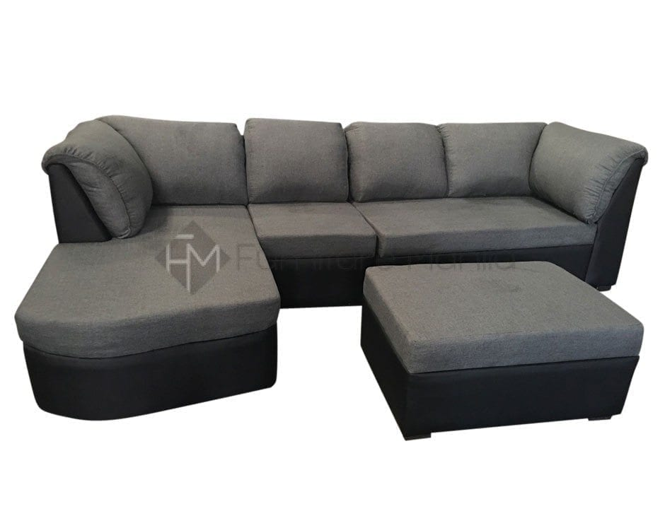 EC067 L SHAPED SOFA