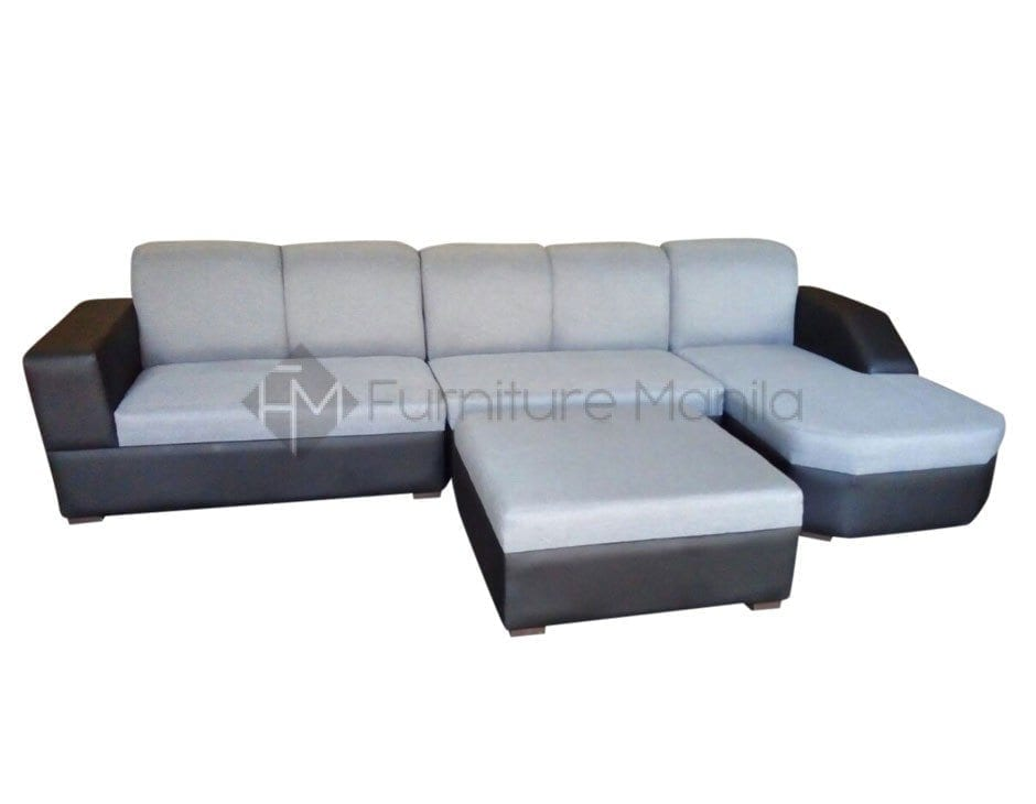 Em197 l shaped sofa furniture manila philippines Home furniture laguna philippines