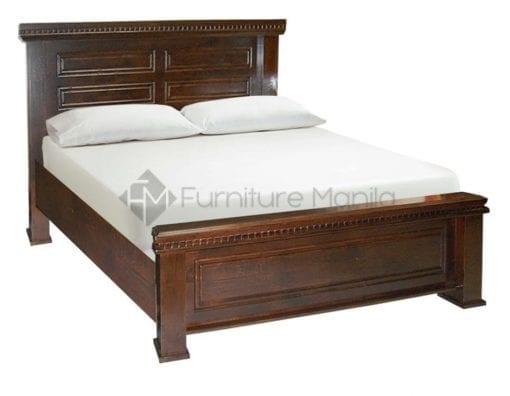 8032 wooden bed frame home office furniture philippines. Black Bedroom Furniture Sets. Home Design Ideas