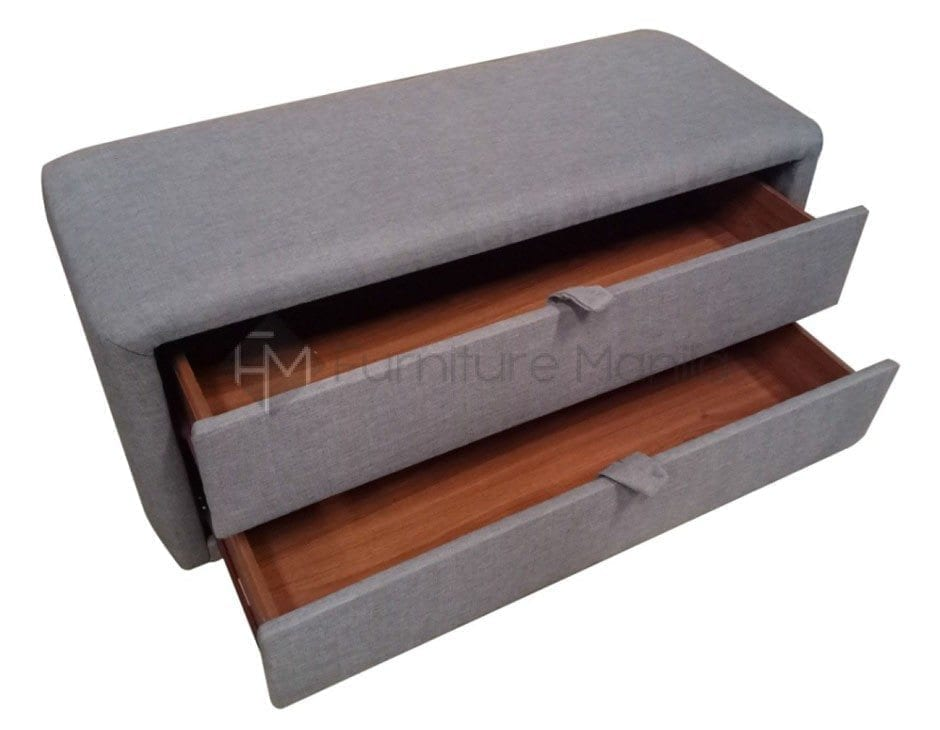Fabric Bench With Drawers Home Office Furniture Philippines
