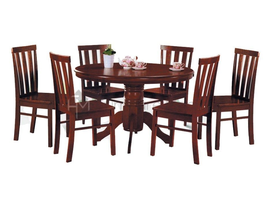 C7838 round table dining set home office furniture philippines Home furniture laguna philippines