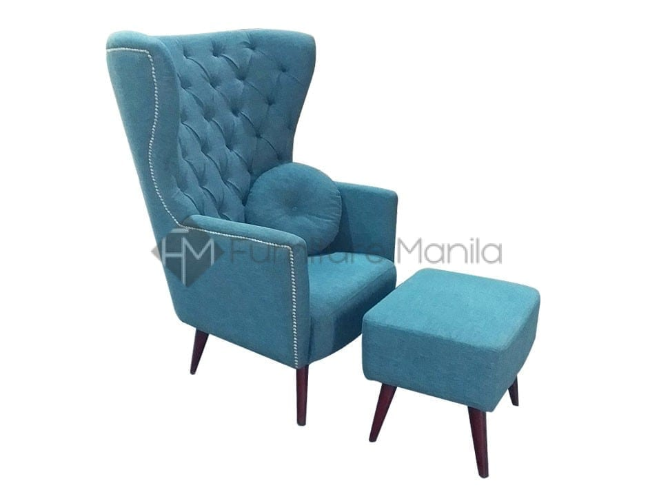 Accent Chairs.Buy Allie Accent Chair With Ottoman Furniture Manila