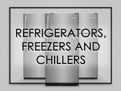 Refrigerators, Freezers & Chillers