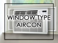Window Type Aircon