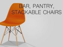 Bar, Pantry, Stackable Chairs