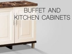 Buffet and Kitchen Cabinets