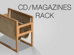 CD/Magazine Rack