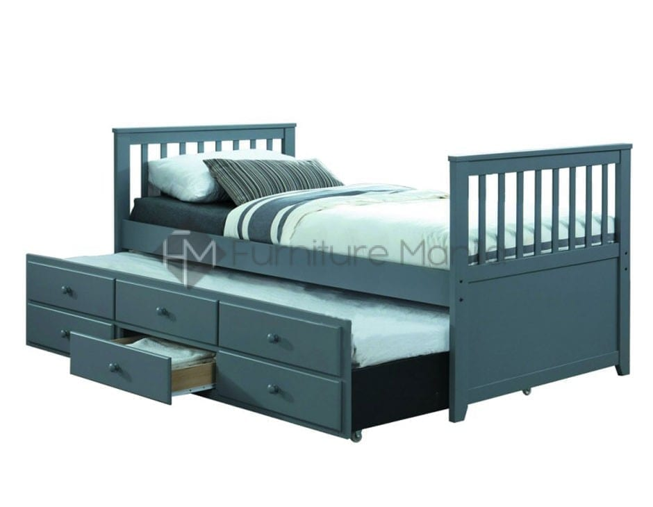 competitive price a897c 3f3ac CLINT CAPTAIN TRUNDLE BED FRAME
