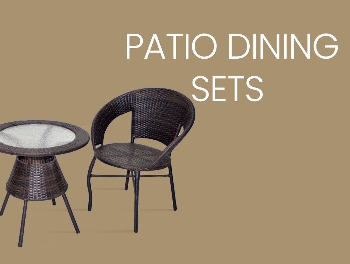 Patio Dining Sets Furniture Manila