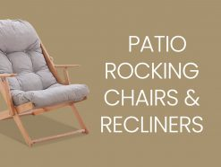 Patio Rocking Chairs & Recliners