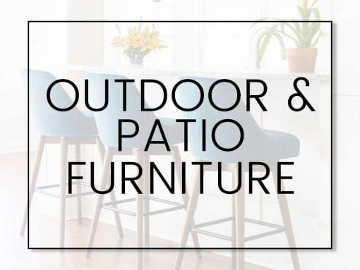 Outdoor & Patio Furniture