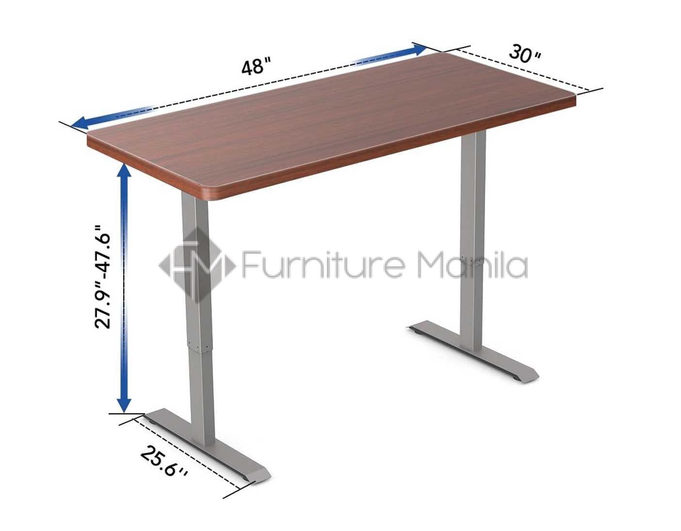 Picture of: Flexispot E2e Electric Height Adjustable Desk Frame Tabletop Furniture Manila