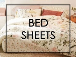 Bedsheets & Pillowcases